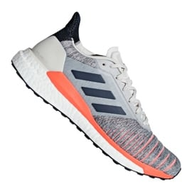 Szare Buty adidas Solar Glide M D97080