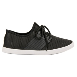SHELOVET czarne Modne Buty Sportowe