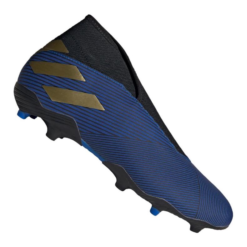 Buty piłkarskie adidas Nemeziz 19.3 Ll Fg M EF0373 granatowy niebieskie