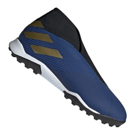 Buty piłkarskie adidas Nemeziz 19.3 Ll Tf M EF0387 niebieskie granatowy