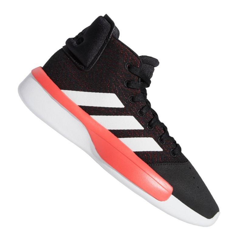 Buty koszykarskie adidas Pro Adversary 2019 M BB9192 czarne czarne