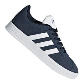 Granatowe Buty adidas Vl Court 2.0 Jr DB1828