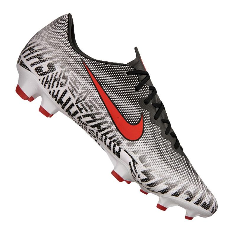 Buty piłkarskie Nike Vapor 12 Pro Njr Fg M AO3123-170 szary/srebrny białe