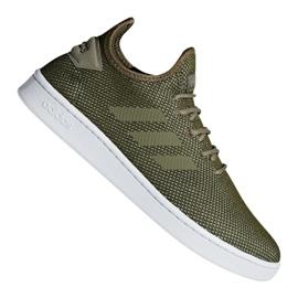 Zielone Buty adidas Court Adapt M F36420