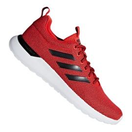 Czerwone Buty biegowe adidas Lite Racer Cln M F34571