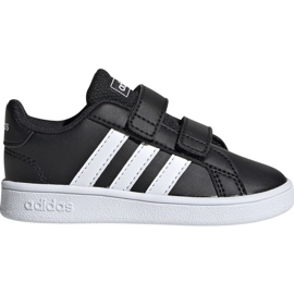 Czarne Buty adidas Grand Court I EF0117