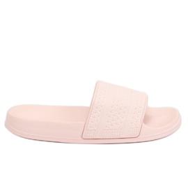 Klapki piankowe różowe J10761 Pink