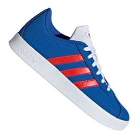 Buty adidas Vl Court 2.0 Jr EE6902 niebieskie