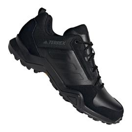 Czarne Buty trekkingowe adidas Terrex AX3 Lea M EE9444