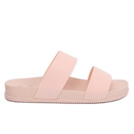 Klapki damskie różowe TS-23 Pink