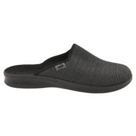 Befado obuwie męskie pu 548M016 szare