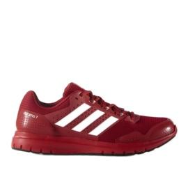 Czerwone Buty biegowe adidas Duramo 7 M AF6667