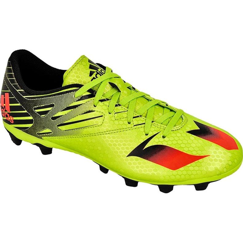Buty piłkarskie adidas Messi 15.4 FxG M S74698 zielone zielone