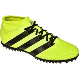Buty piłkarskie adidas Ace 16.3 Primemesh Tf M AQ3429 żółte zielony, żółty