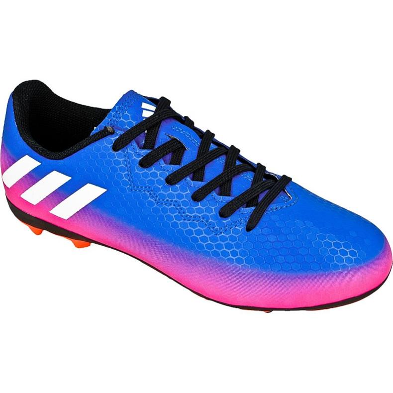 Buty piłkarskie adidas Messi 16.4 FxG Jr BB1033 niebieskie niebieski