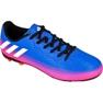 Buty piłkarskie adidas Messi 16.4 FxG Jr BB1033 niebieski niebieskie