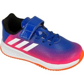 Niebieskie Buty adidas Rapida Turf Messi Kids BB0235