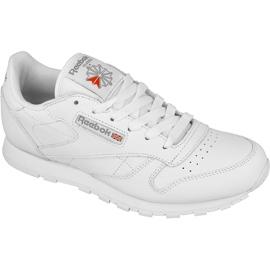 Białe Buty Reebok Classic Leather Jr 50151