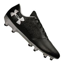 Buty piłkarskie Under Armour Magnetico Select Fg M 3000115-001 czarny czarne