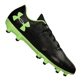 Buty piłkarskie Under Armour Magnetico Select Fg M 3000115-002 czarne czarny