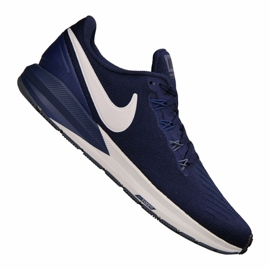 Buty Nike Air Zoom Structure 22 M AA1636-404 granatowe