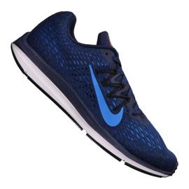 Niebieskie Buty Nike Zoom Winflo M AA7406-405