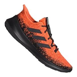 Buty biegowe adidas SenseBOUNCE + M G27233 czerwone