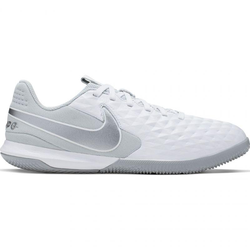 Buty halowe Nike Tiempo Legend 8 Academy Ic Jr AT5735 100 białe biały