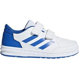 Buty adidas Altasport Cf K D96827 białe niebieskie