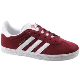Buty adidas Gazelle Jr CQ2874 czerwone