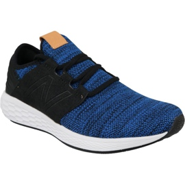 Buty biegowe New Balance Fresh Foam Cruz v2 M MCRUZKR2 niebieskie
