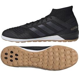 Buty halowe adidas Predator 19.3 In M F35617 czarny czarne