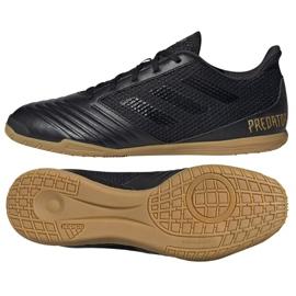 Buty halowe adidas Predator 19.4 In Sala M F35633 czarne czarny, czarny