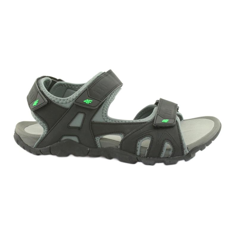 Sandały 4F M H4L19-SAM003 20S czarny