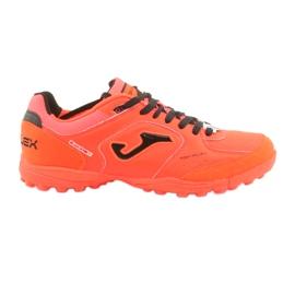 Buty piłkarskie Joma Top Flex 807 Tf M TOPS.807.TF pomarańczowe