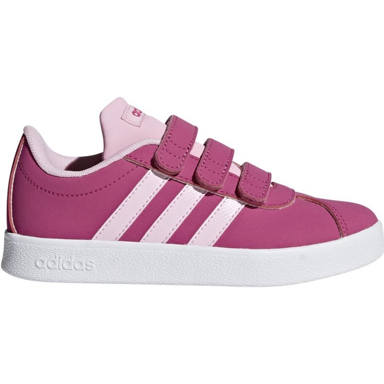Buty Adidas Vl Court 2.0 Cmf C różowe Jr F36394