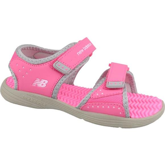 Sandały New Balance Sandal K K2004GRP różowe