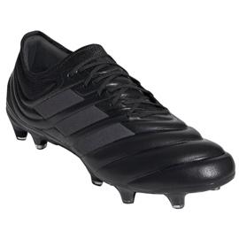 Buty piłkarskie adidas Copa 19.1 Fg M F35517 czarne czarny