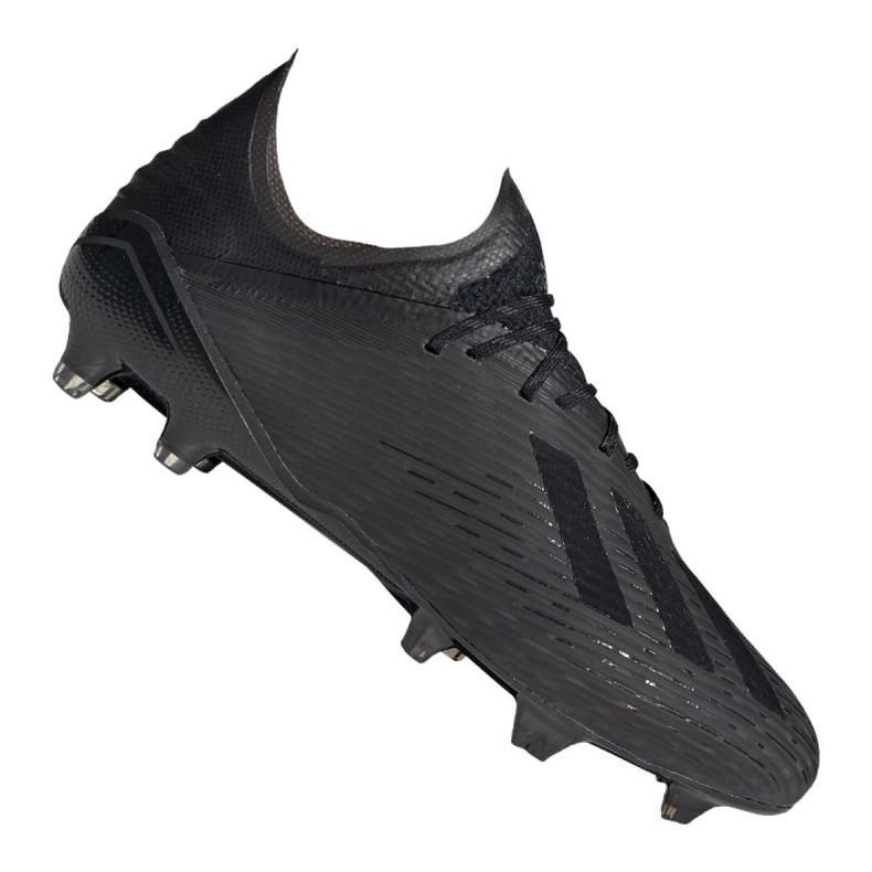 Buty piłkarskie adidas X 19.1 Fg M F35314 wielokolorowe czarne
