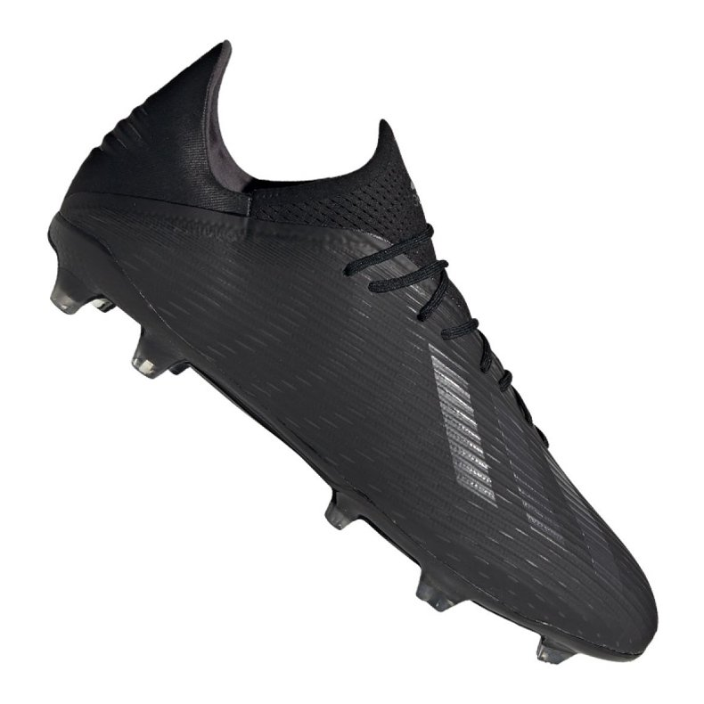 Buty piłkarskie adidas X 19.2 Fg M F35385 czarne czarny