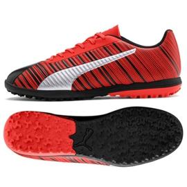 Buty piłkarskie Puma One 5.4 Tt M 105653 01 czerwone czarny, czerwony
