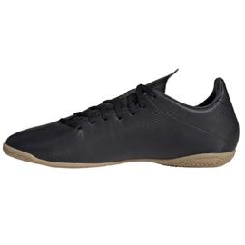 Buty halowe adidas X 19.4 In M F35339 czarny czarne