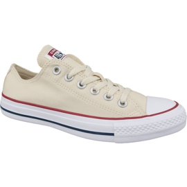 Brązowe Buty Converse Chuck Taylor All Star Ox 159485C beżowe