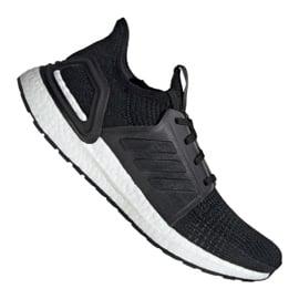 Czarne Buty biegowe adidas UltraBoost 19 M G54009