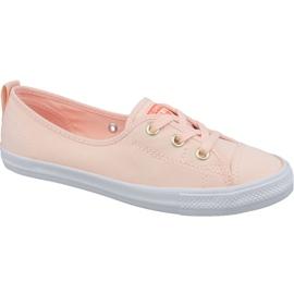Buty Converse Chuck Taylor All Star Ballet Lace Slip 564313C pomarańczowe