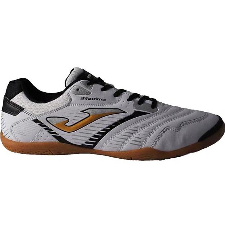 Buty piłkarskie Joma Maxima 902 Sala In M biało czarne biały, czarny białe