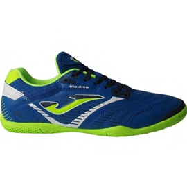 Buty piłkarskie Joma Maxima 904 Sala In M niebieskie