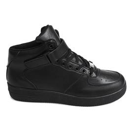 Czarne Sneakersy Adidasy Air Max 2002 Czarny