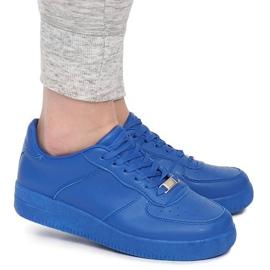 Sneakersy AM2001 Niebieski niebieskie