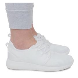 Sportowe obuwie do biegania F368-2 Biały białe